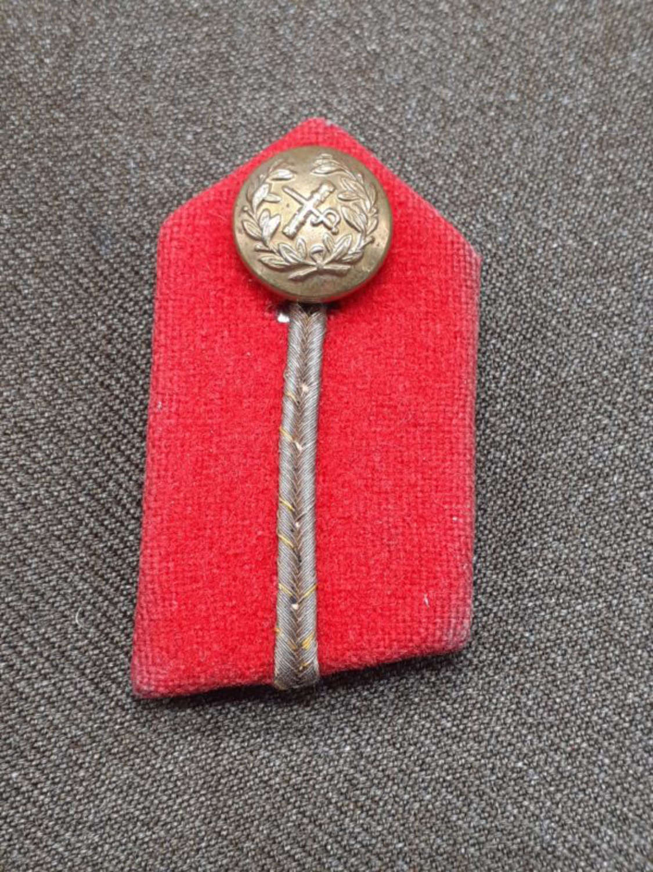 WW2 General's Gorget Badge