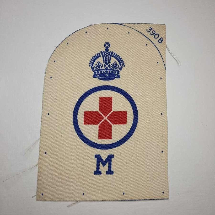 Royal Navy Rating Sick Bay Masseur Insignia