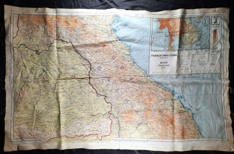 RAF Escape & Evasion map 44J/K