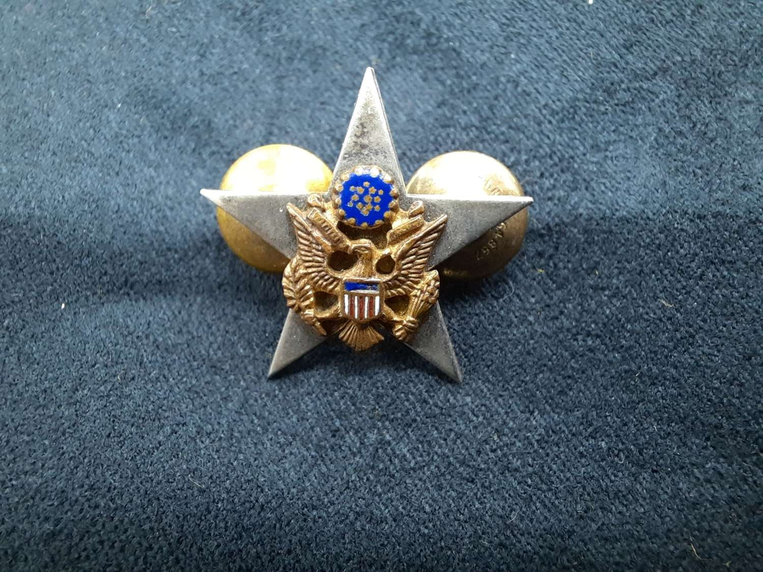 US Army Staff Officer Collar Device