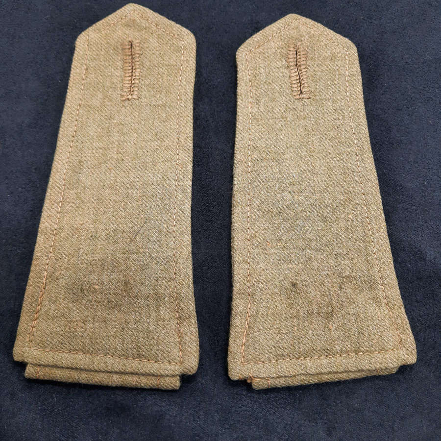 British Army Officer's Shirt Epaulets