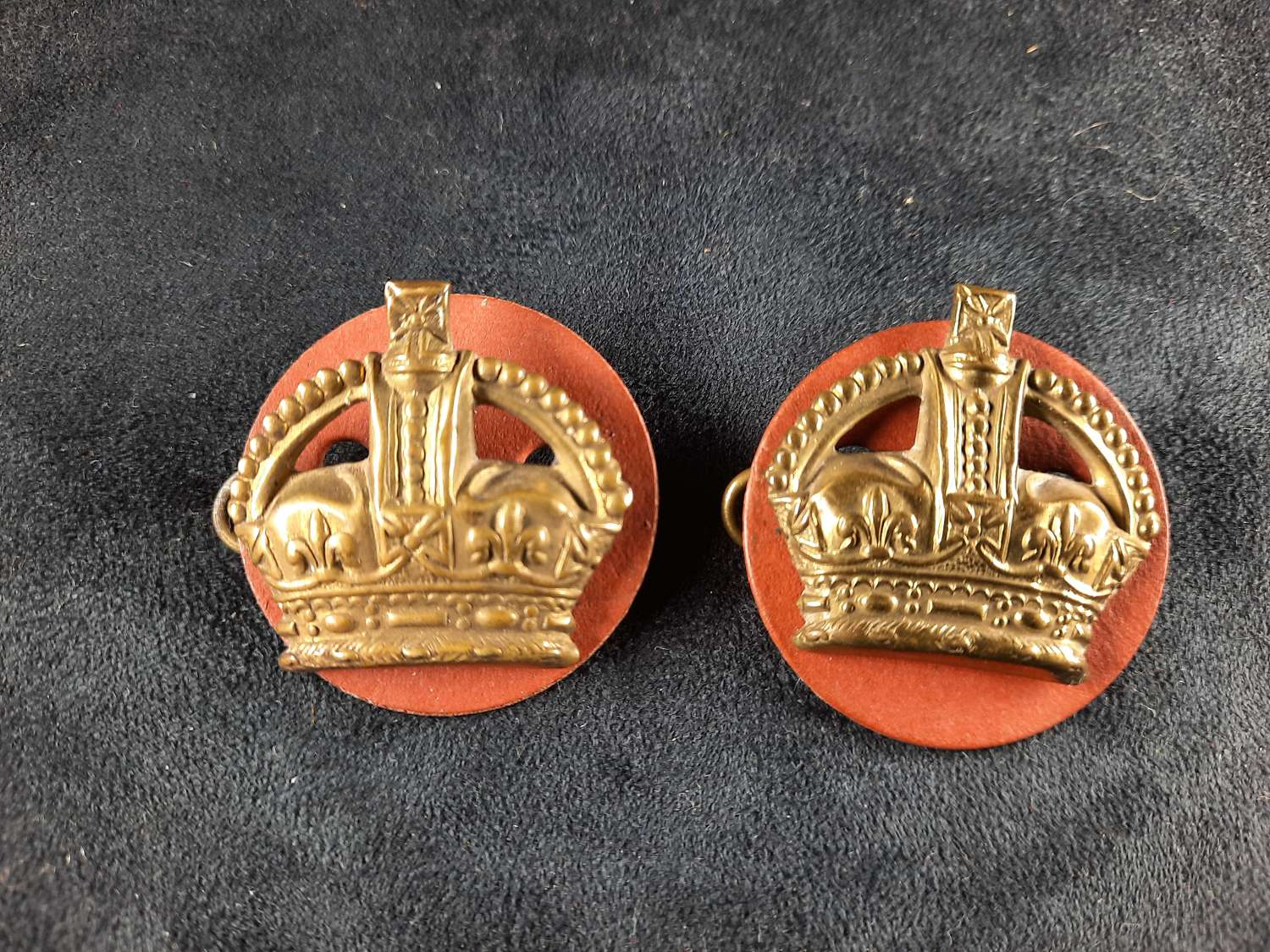Flight Sergeant Brass Crowns