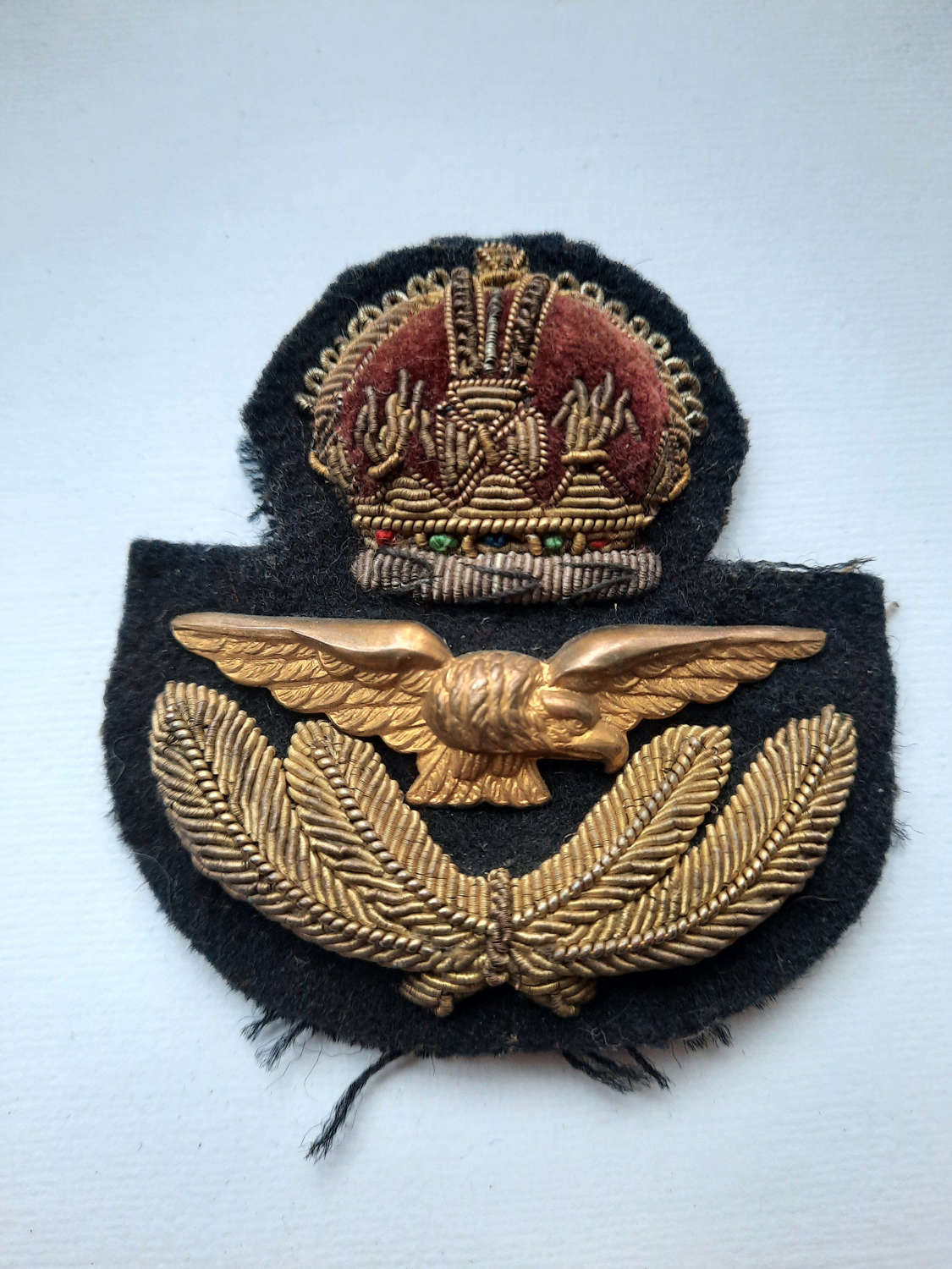 RAF/ RCAF Officer's Cap Badge