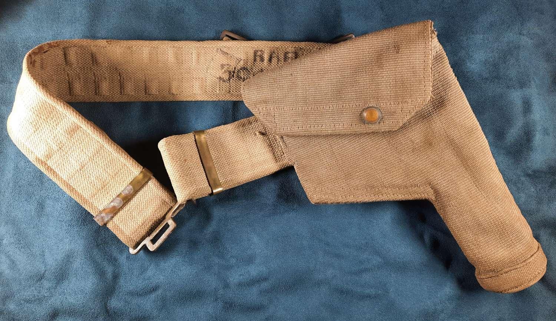 RAF 1937 Holster and Belt