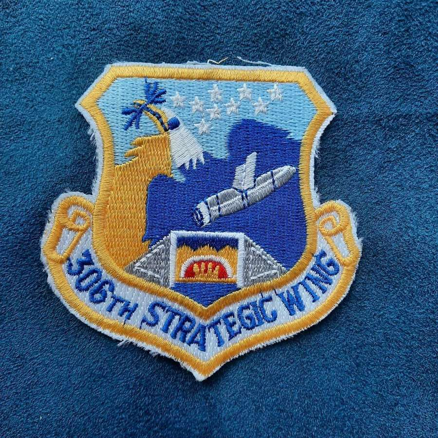 USAF 306th Strategic Wing Patch