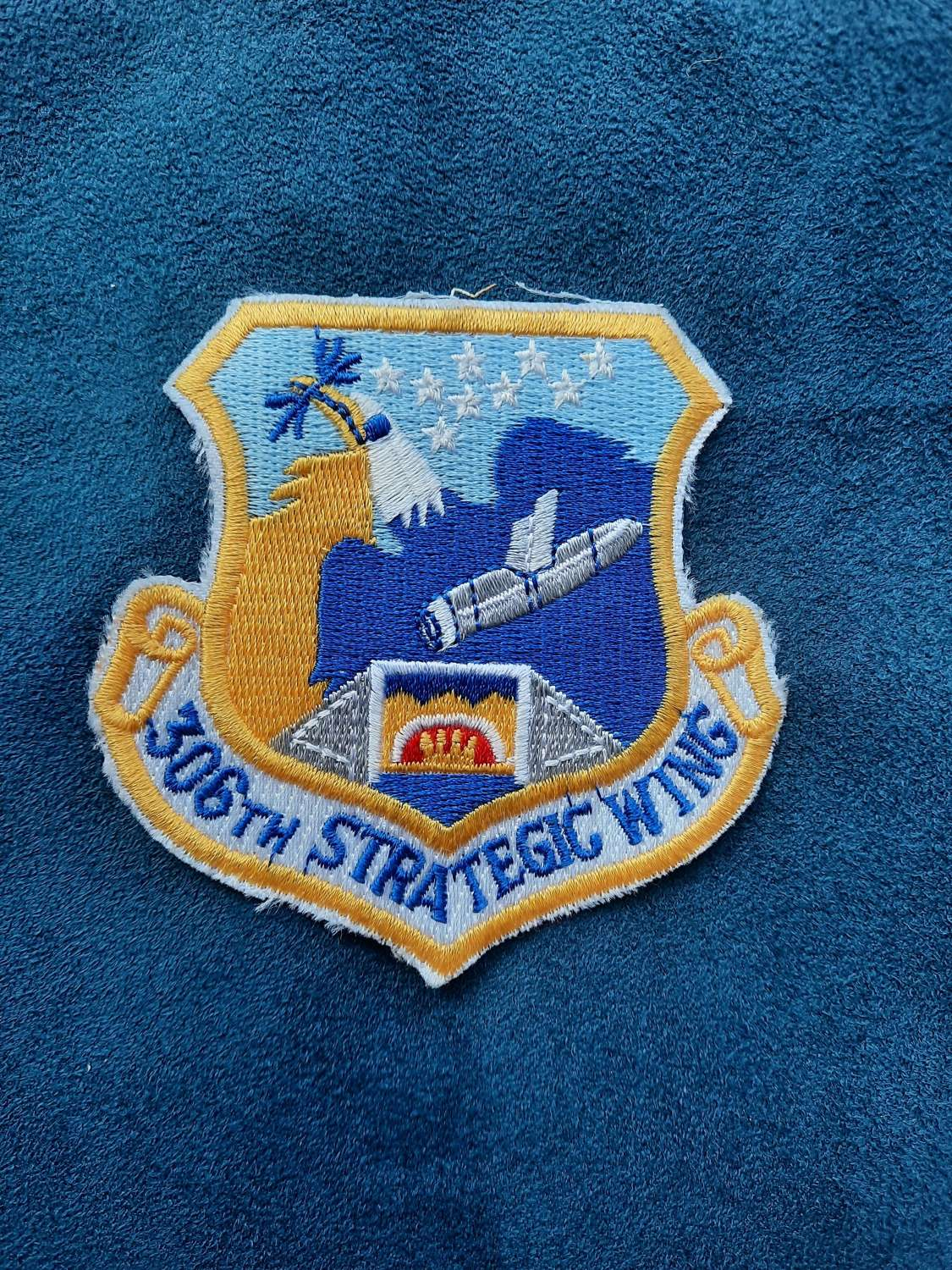 USAF 306th Strategic Wing Patch