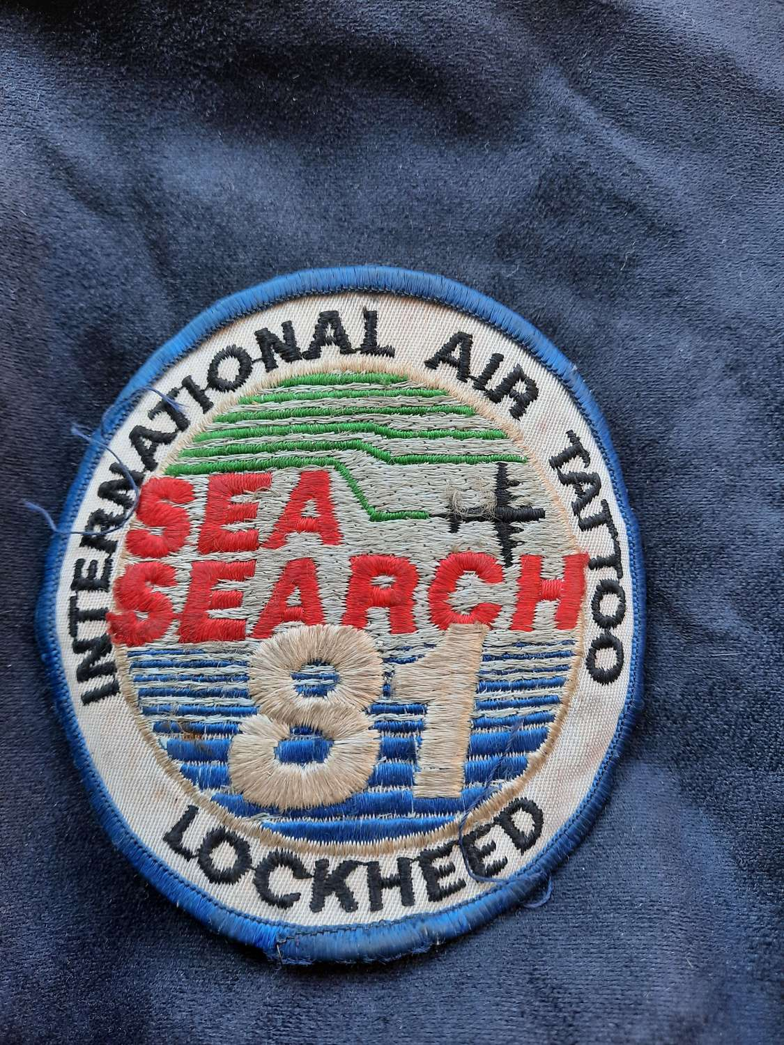 International Air Tattoo Sea Search 81 Patch