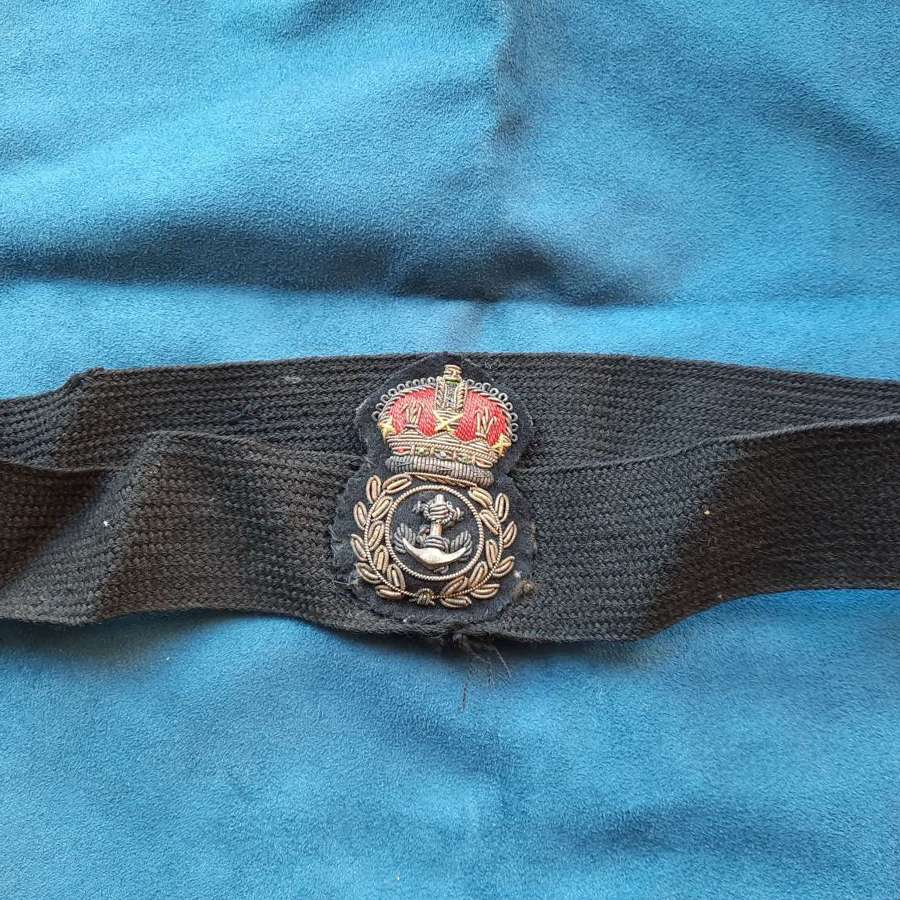 RN Chief Petty Officer cap badge