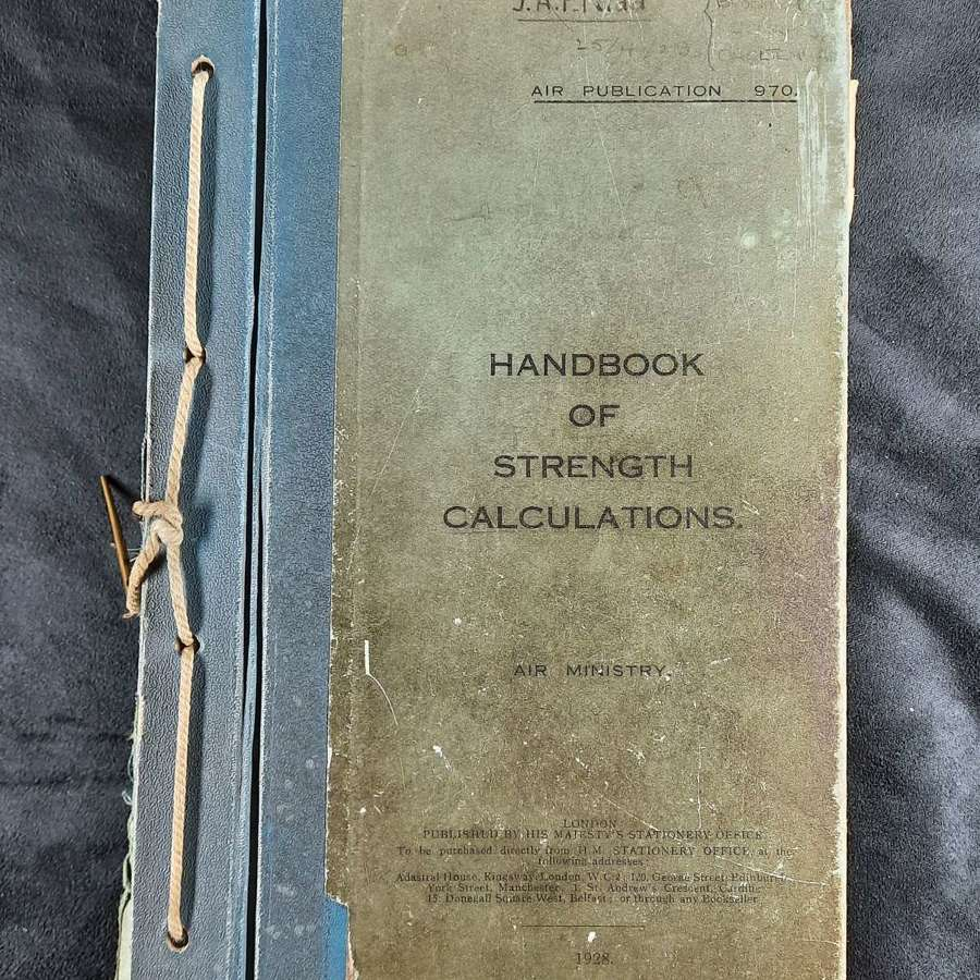 1928 Handbook of Strength Calculations