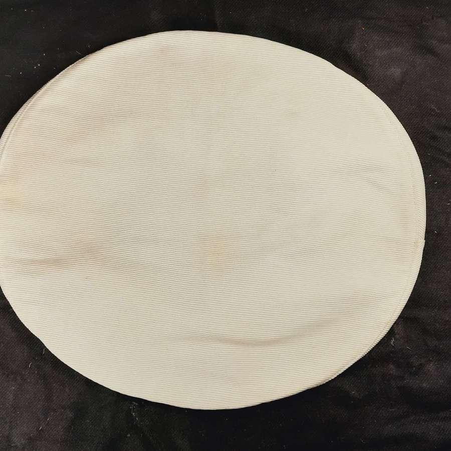 RN Officer's White Cap Cover