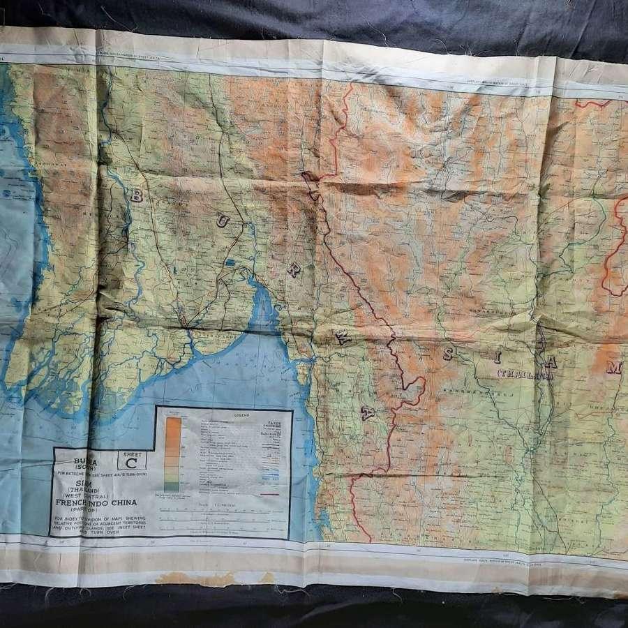 RAF Escape and Evasion Map Sheet 44C/D