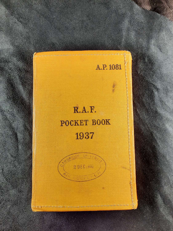 RAF 1937 Pocket Book