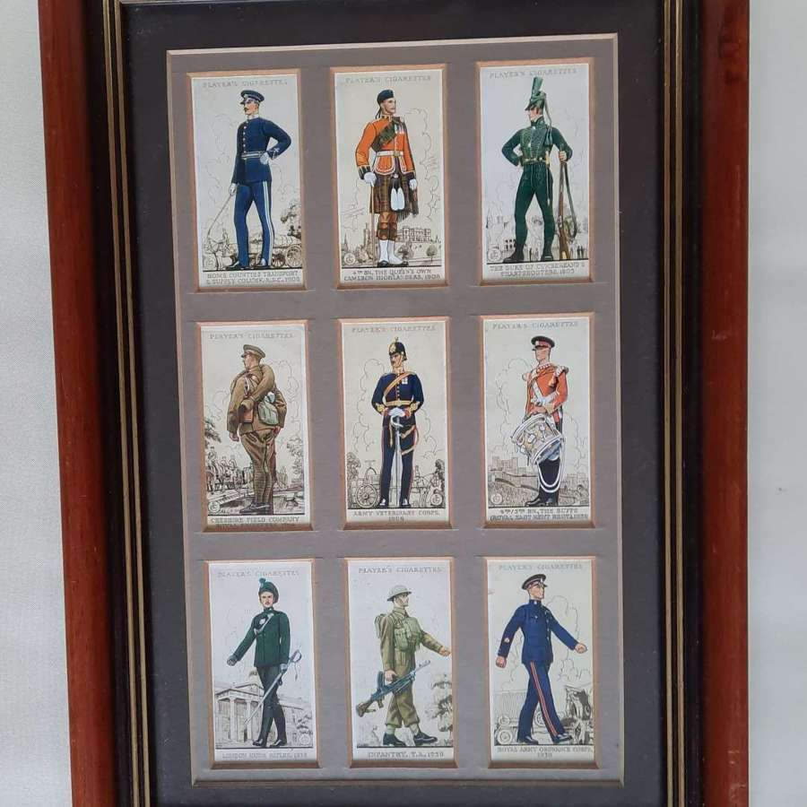 Uniforms of the Territorial Army Cigarette Cards