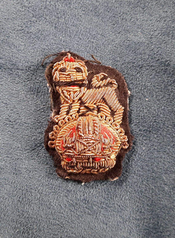 WW2 British Brigadier/ Staff Colonel Cap Badge