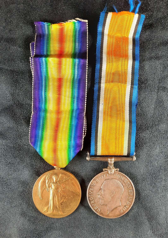 WW1 Pair to Smith ASC