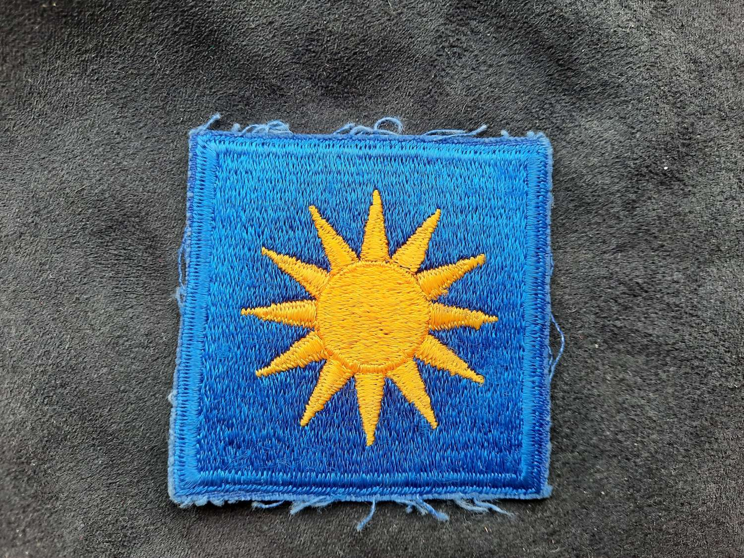 US 40th Infantry Division Patch