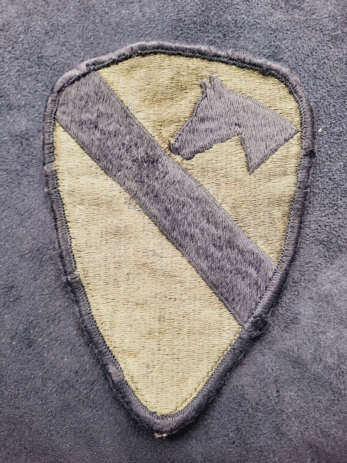 US 1st Cavalry Division Patch