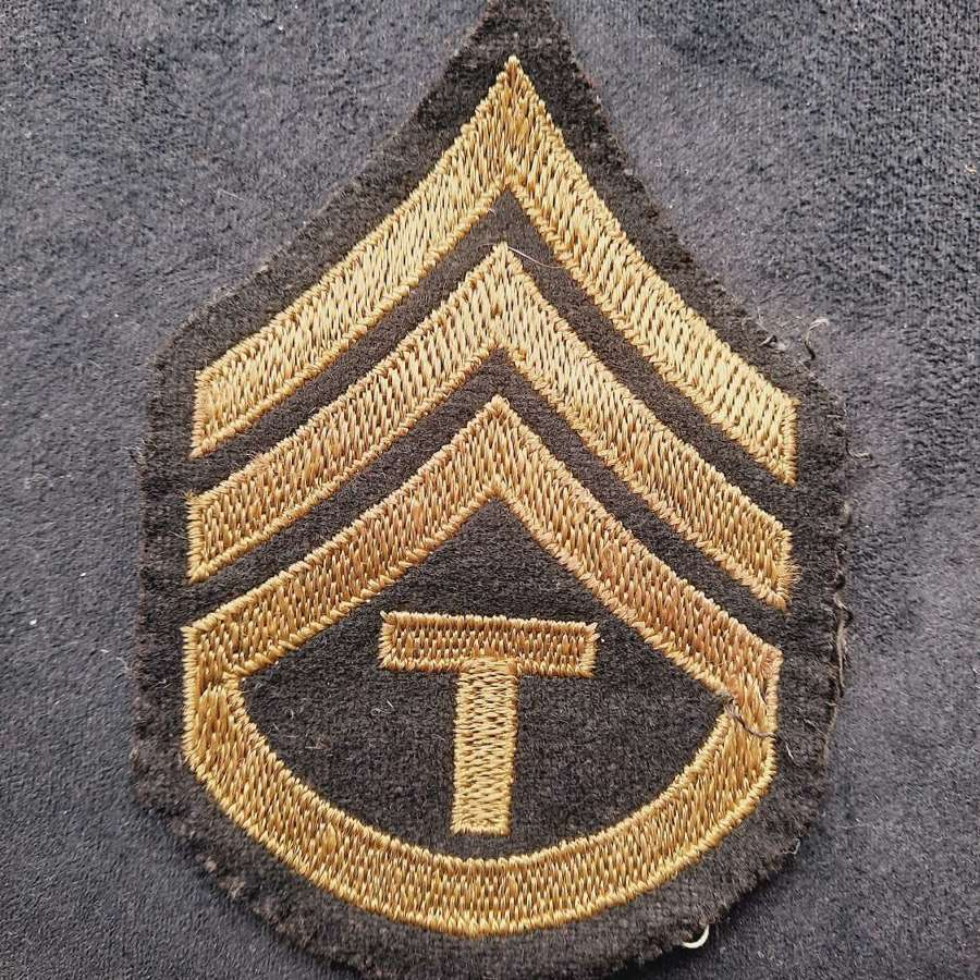USAAF Technician 3rd Grade Patch