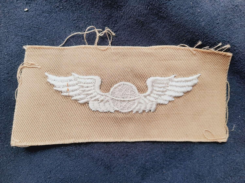 USAAF Navigator Flight Suit Wing