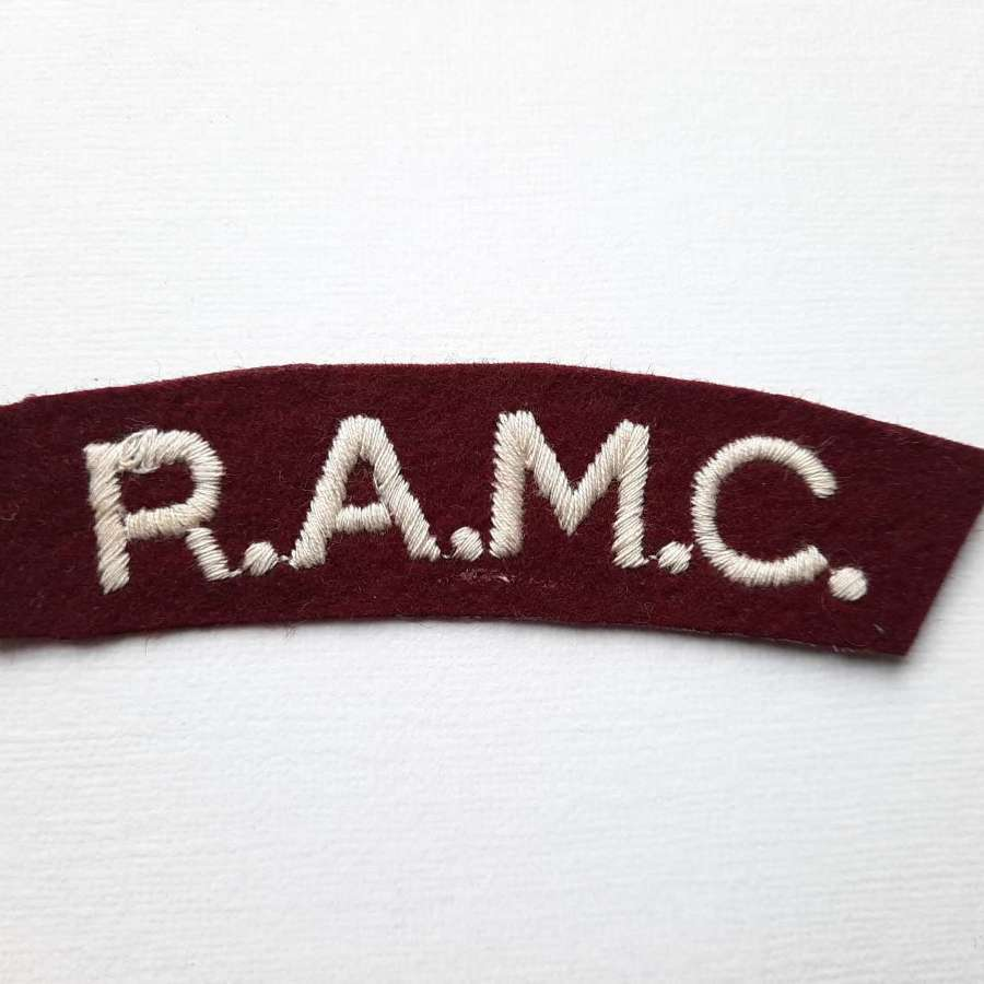 Royal Army Medical Corps Shoulder Title