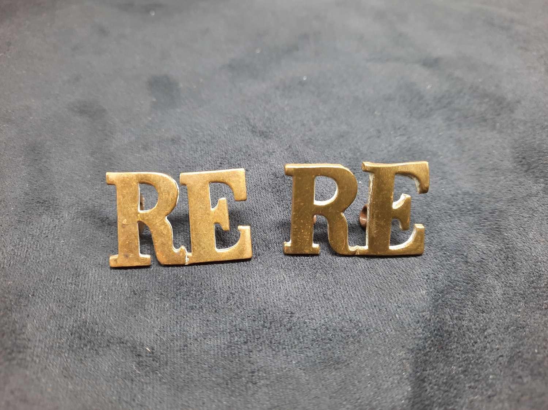 Royal Engineers Shoulder Titles