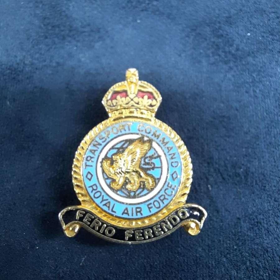 RAF Air Transport Command Lapel Badge