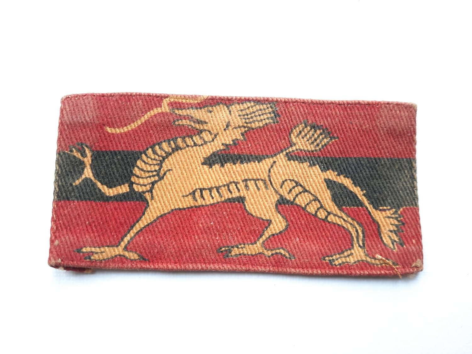 Hong Kong Military Service Corps Printed Patch