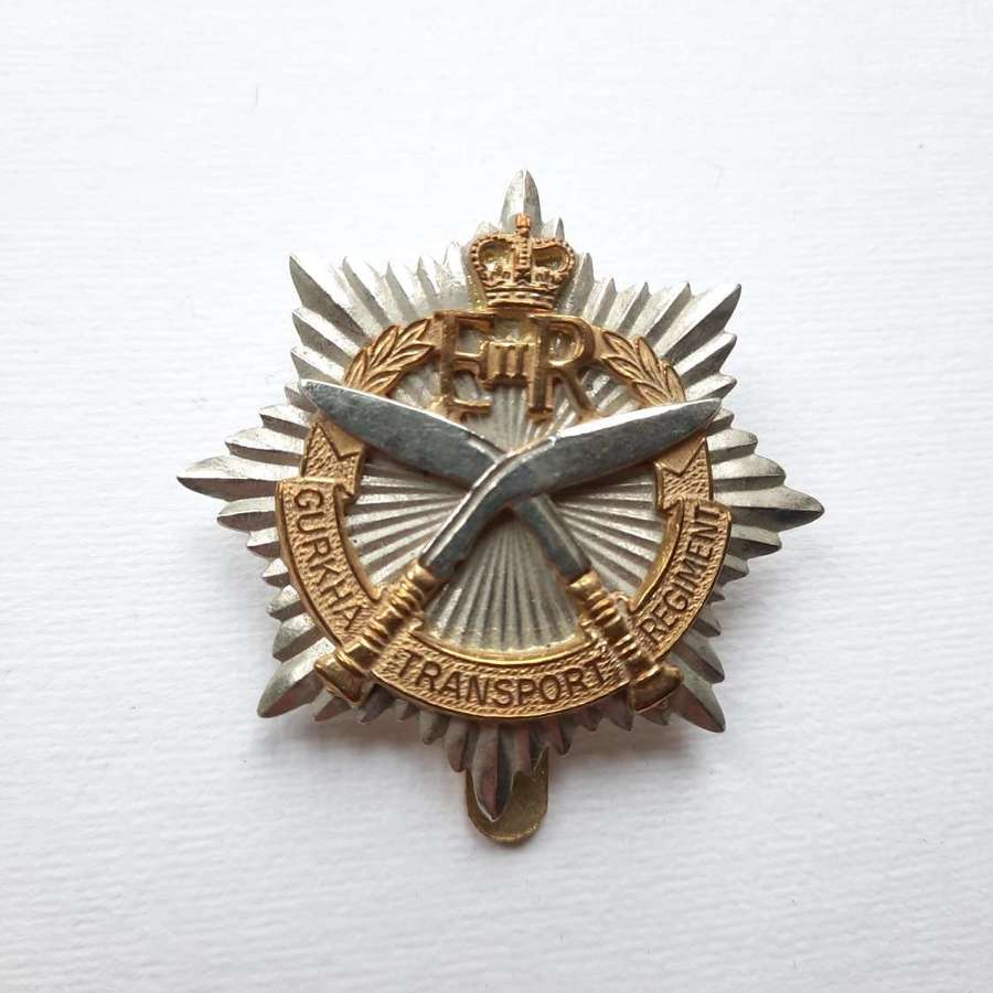 Gurkha Transport Regiment Cap Badge