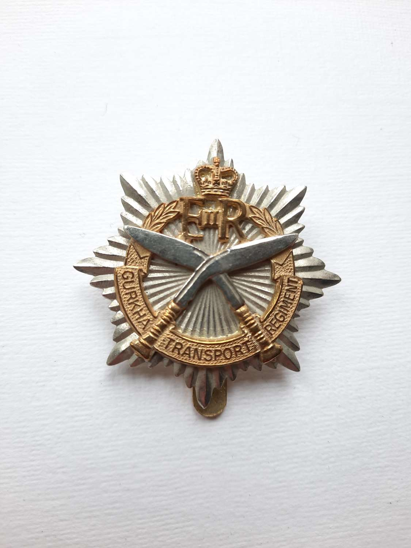Gurkha Transport Regiment Cap Badge