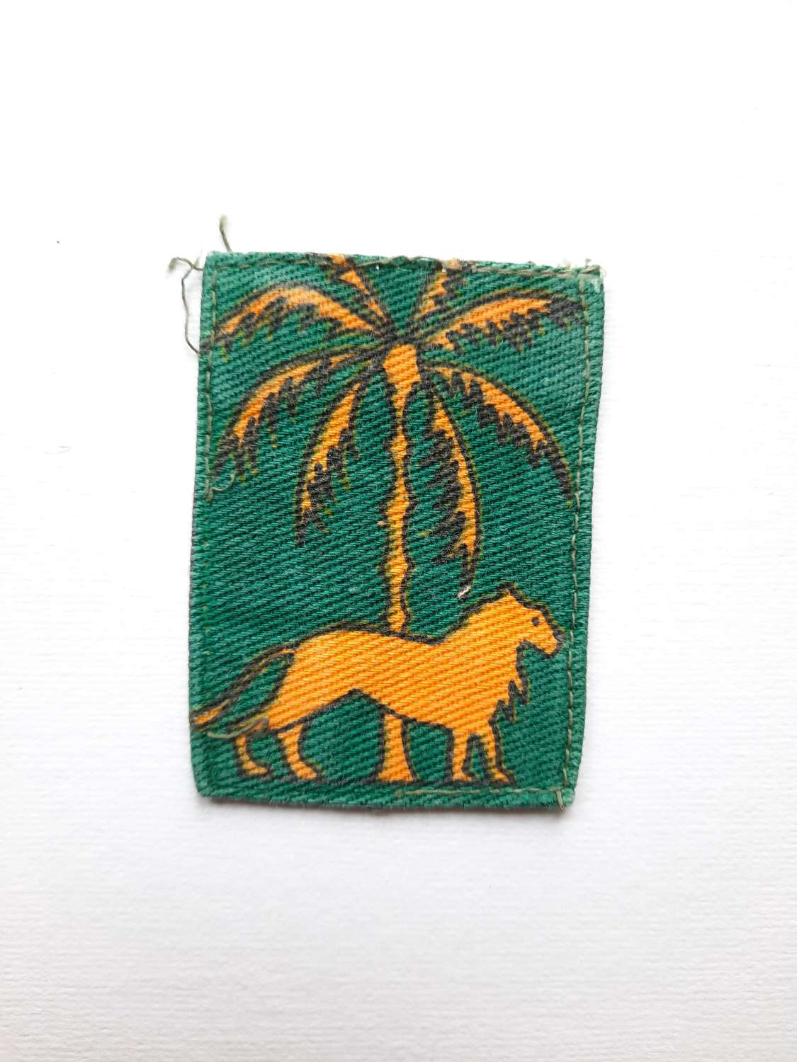 Singapore District Printed Patch