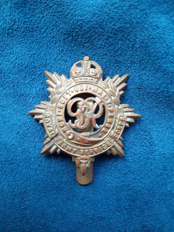 Royal Army Service Corps Cap Badge