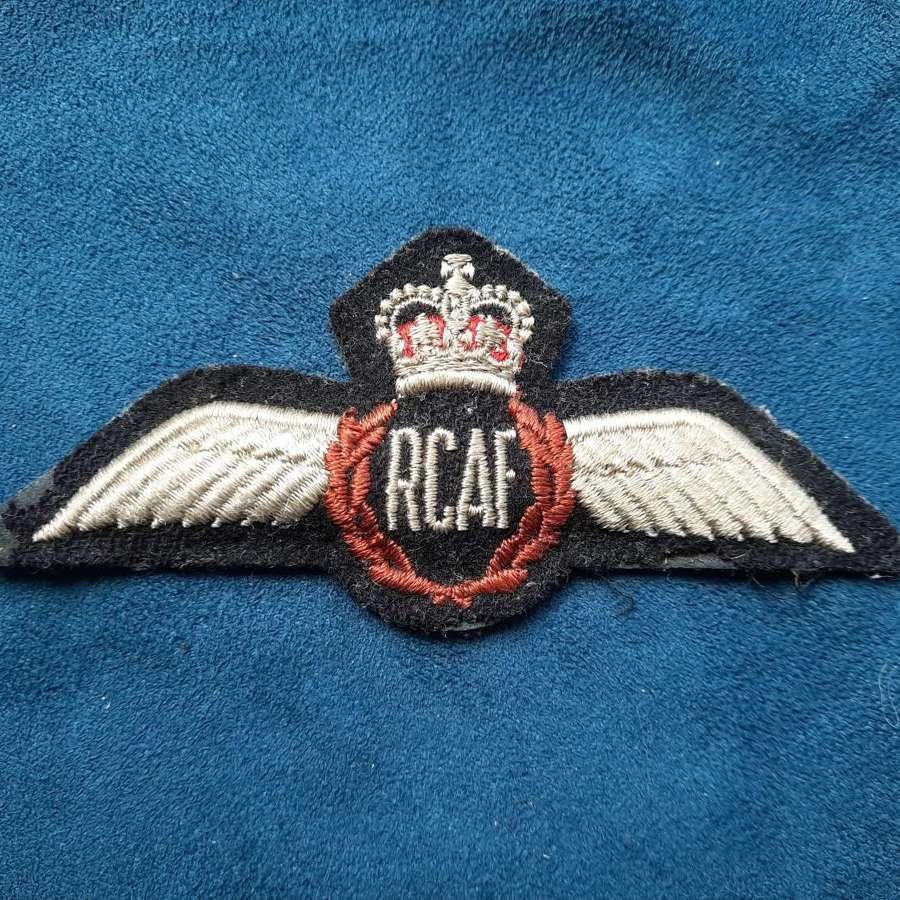 RCAF Pilot Wings