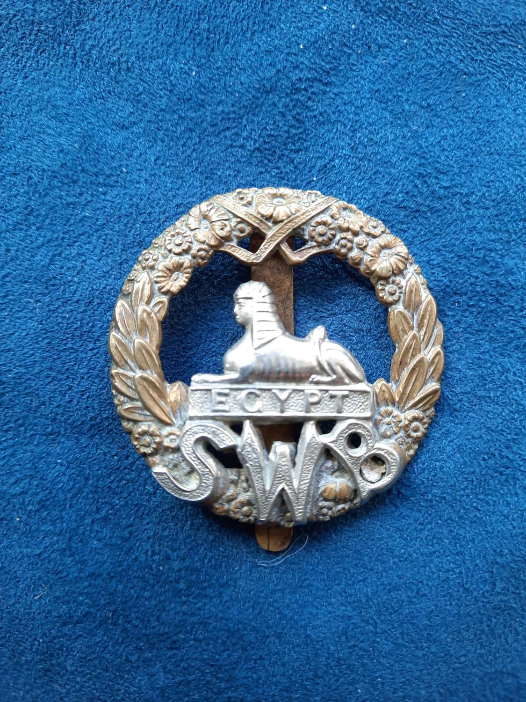 South Wales Borderers Cap Badge