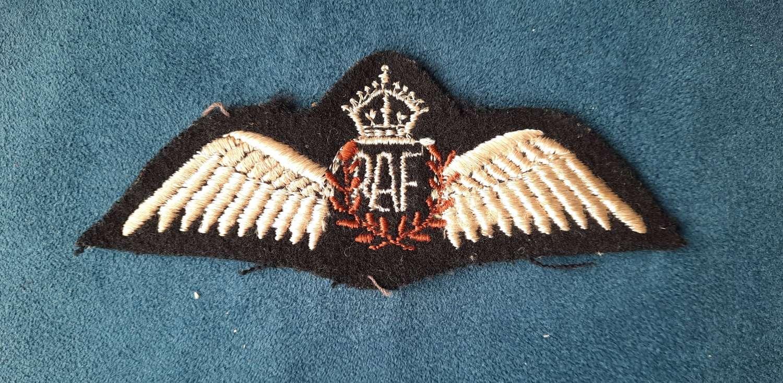RAF Pilot Wings Canadian Made