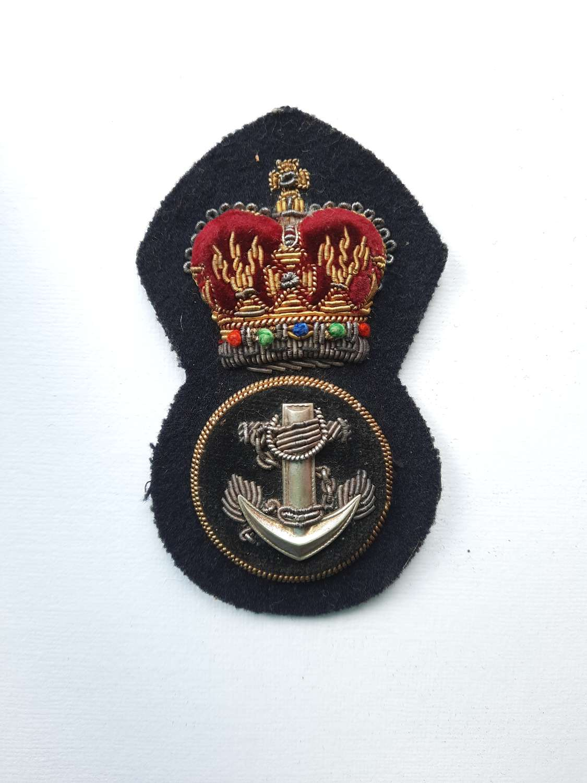 Royal Navy Petty Officer Cap Badge