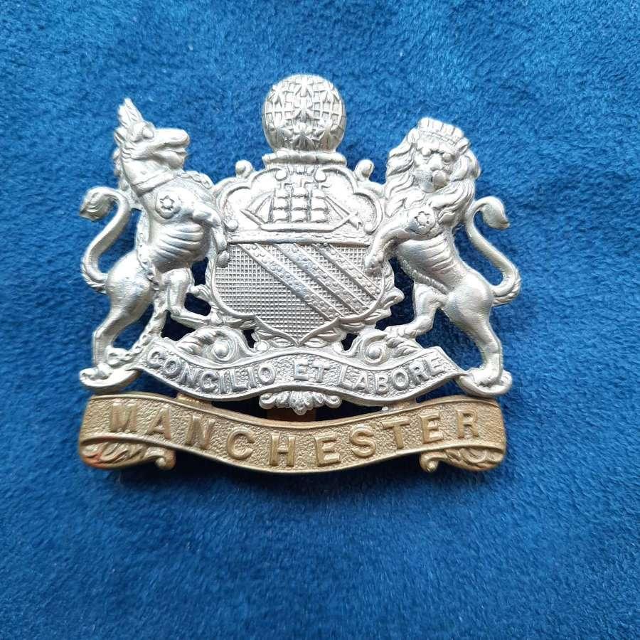 WW1 Manchester Regiment Cap Badge