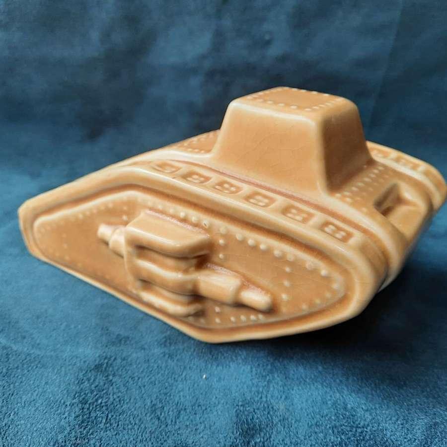 Carlton Ware WW1 Tank