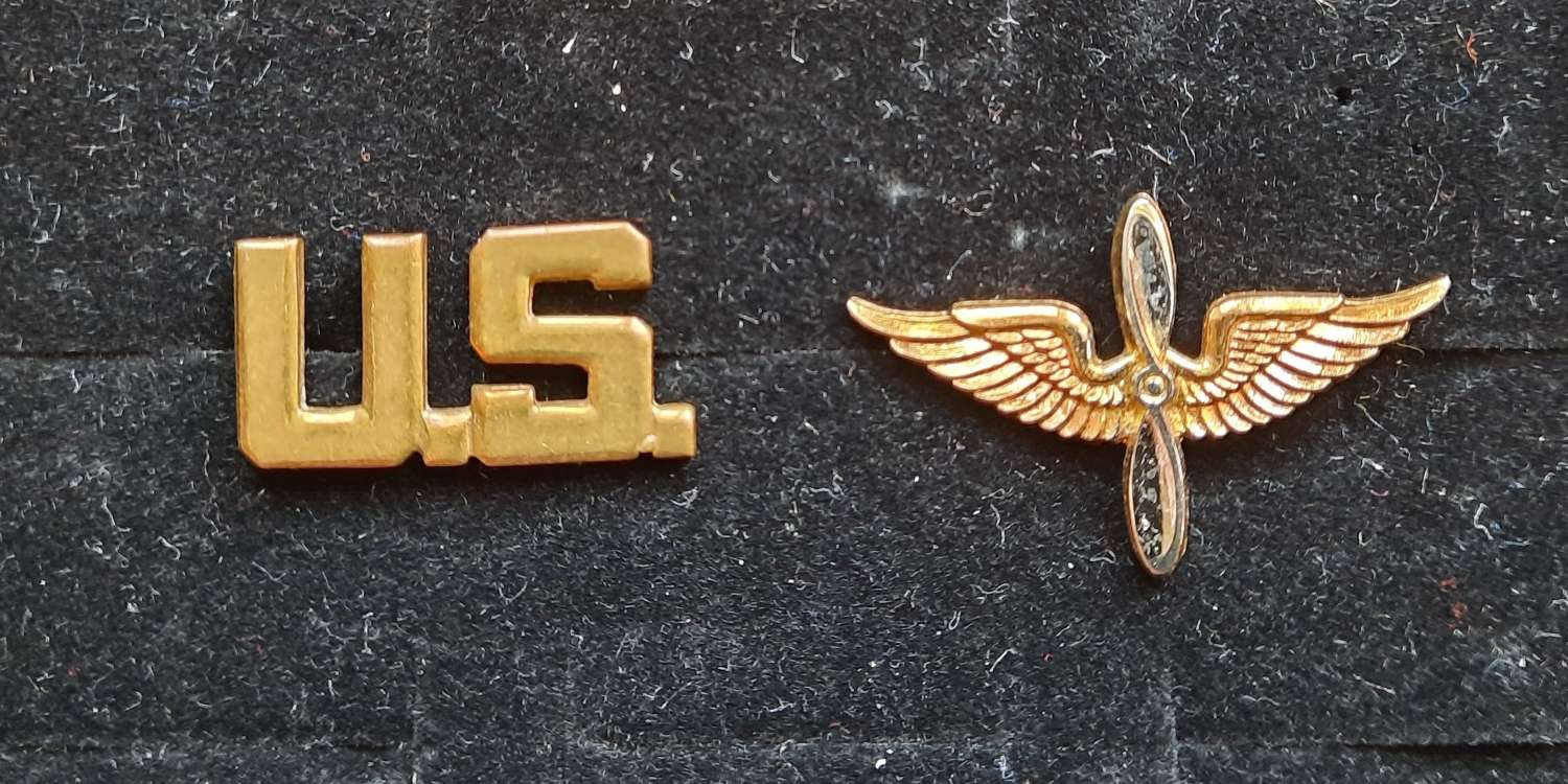 USAAF Officer's Shirt Collar Devices