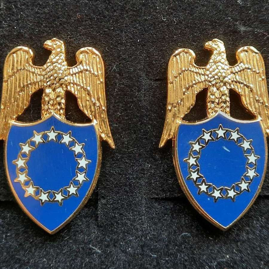US Army Aide to the President of the United States Collar Devices