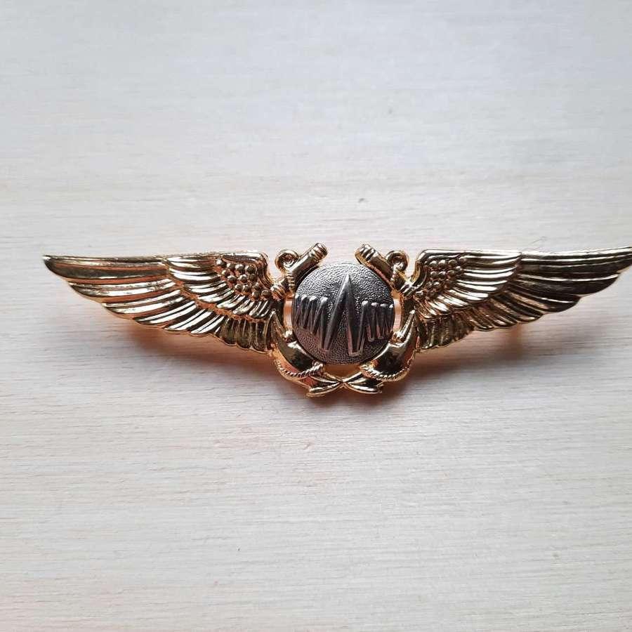 US Navy REO Wing Badge