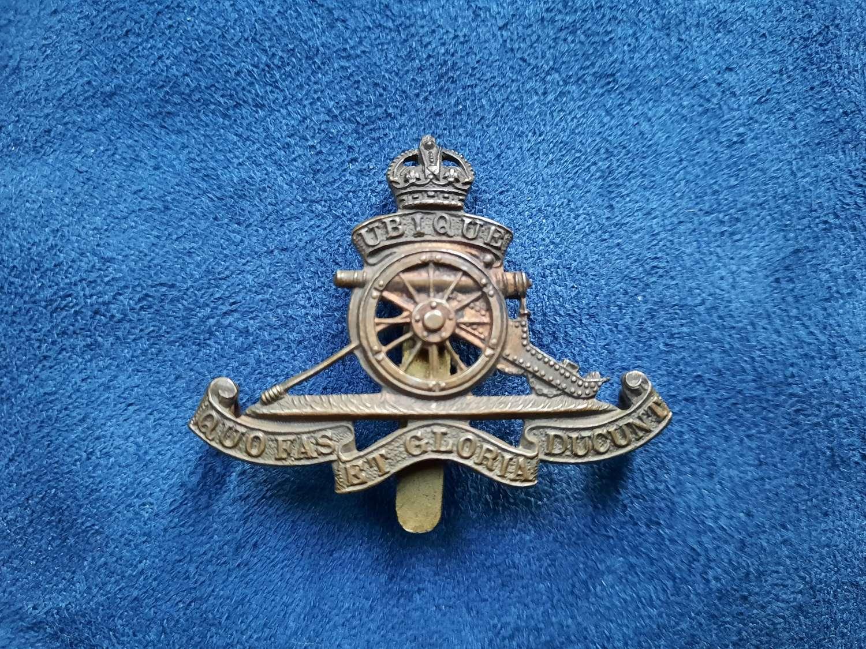 Royal Artillery Cap/ Beret Badge
