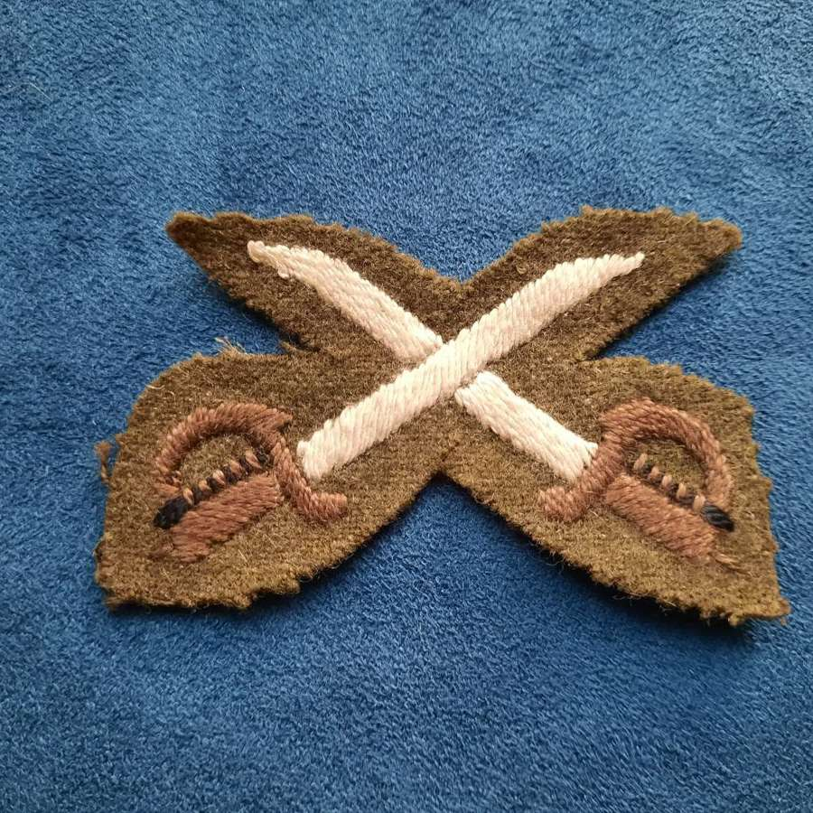 WW2 Assistant Physical Training Instructor Patch