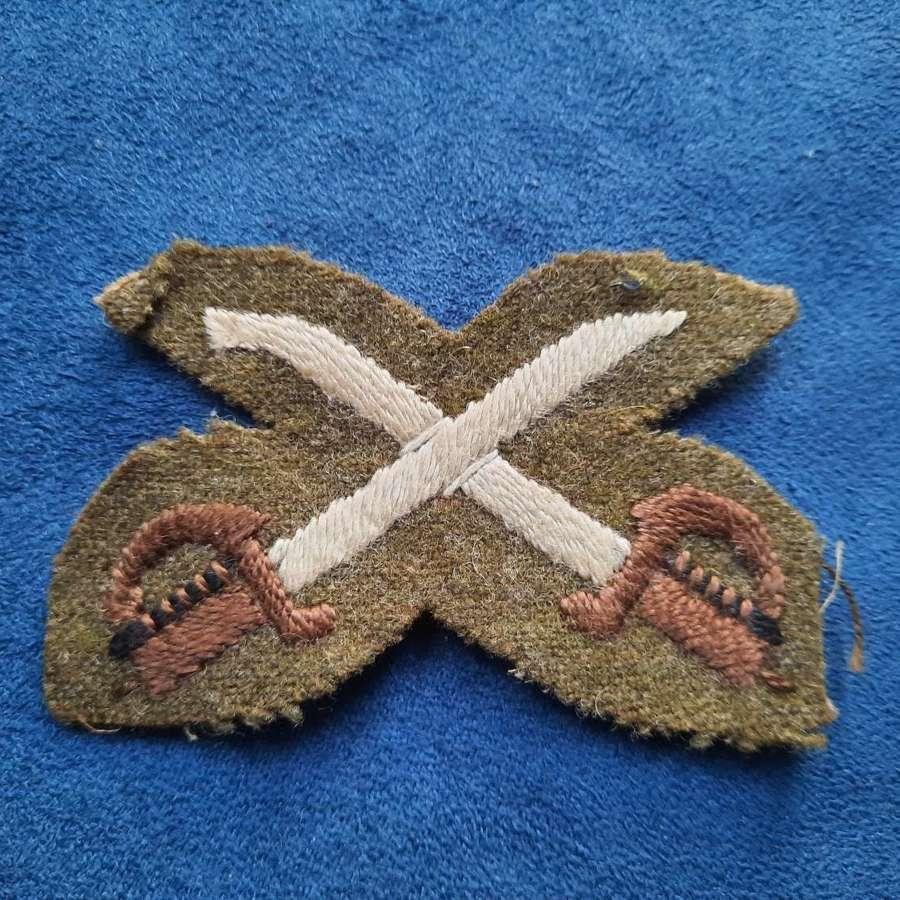 WW2 Assistant PTI Patch