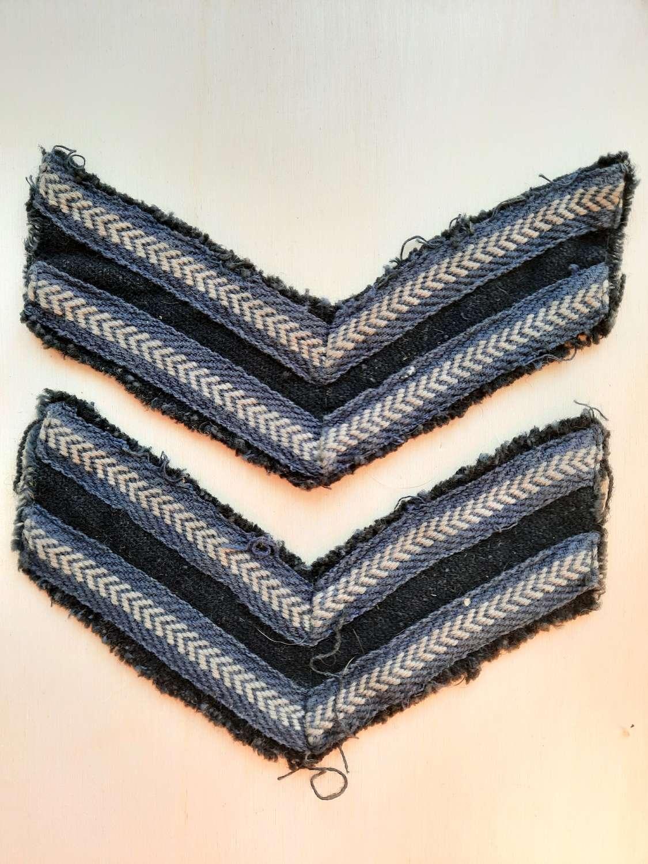 WW2 RAF Corporal Rank Stripes
