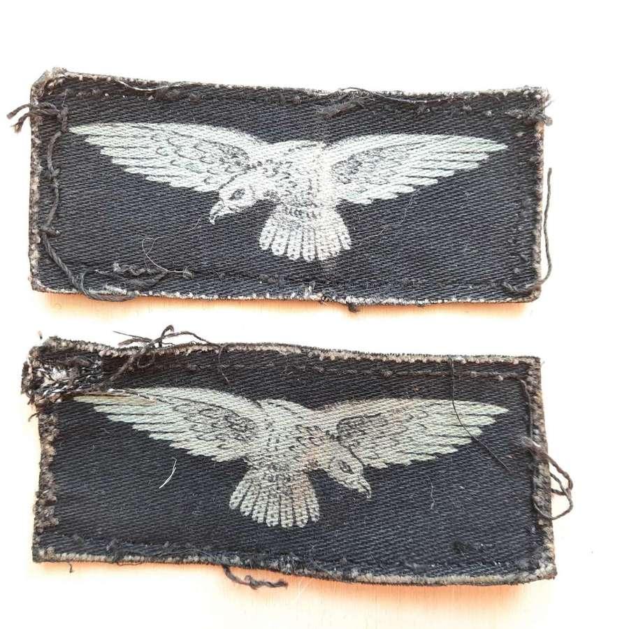 WW2 RAF Albatross Sleeve Printed Insignia