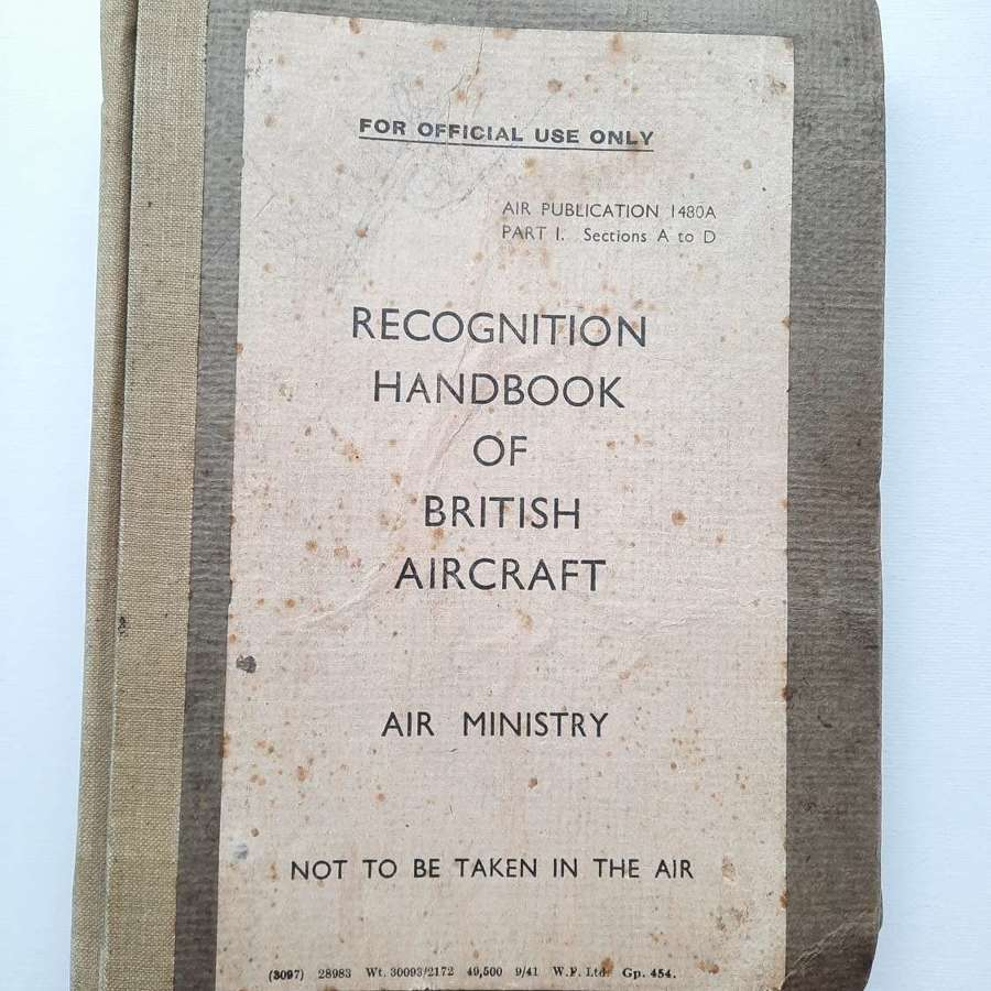 Air Ministry Recognition Handbook of British Aircraft