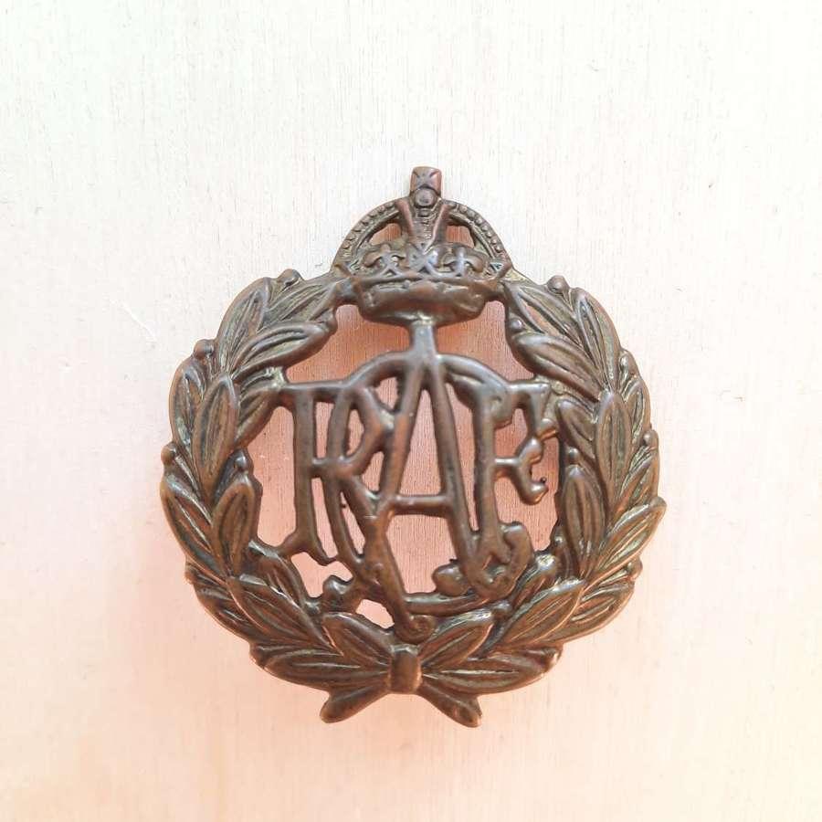 WW2 RCAF Airman's Cap Badge