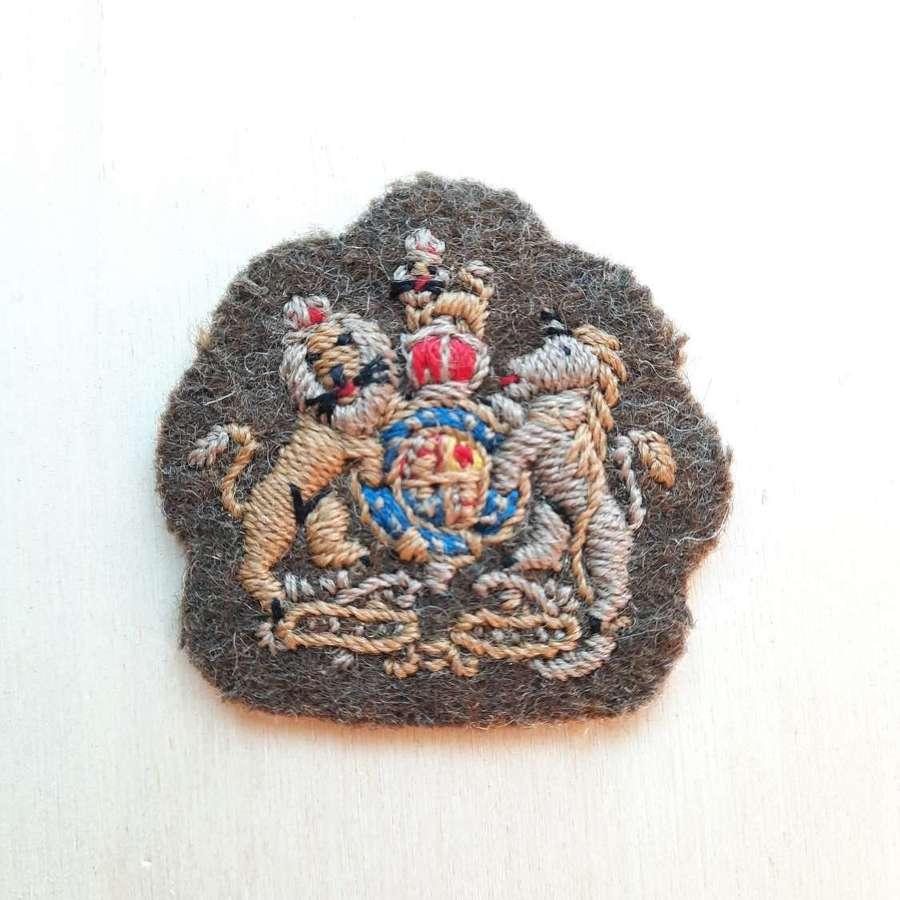 WW2 Warrant Officer Class 1 Sleeve Patch